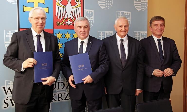 Świętokrzyskie przygotowuje się do realizacji ważnych unijnych projektów. Pożyczka z Banku Rozwoju Rady Europy zabezpieczona