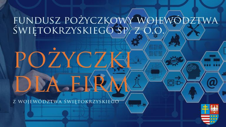 Fundusz Pożyczkowy Województwa Świętokrzyskiego plakat