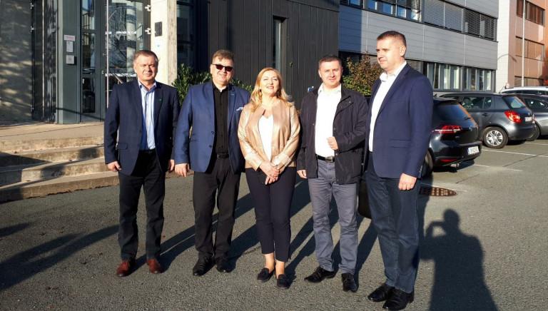 delegacja ze świętokrzyskiego z wizytą w Styrii w Austrii, październik 2019