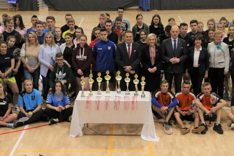 Badmintoniści rywalizowali o Puchar Marszałka