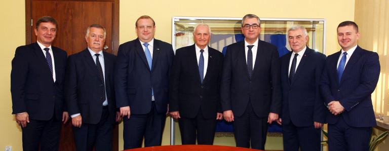 Delegacja z Obwodu Winnickiego spotkała się z gospodarzami regionu