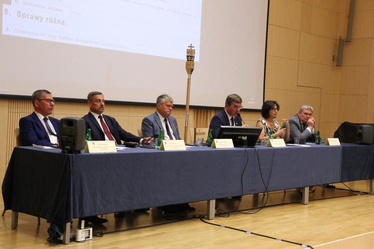 XIV sesja Sejmiku Województwa Świętokrzyskiego