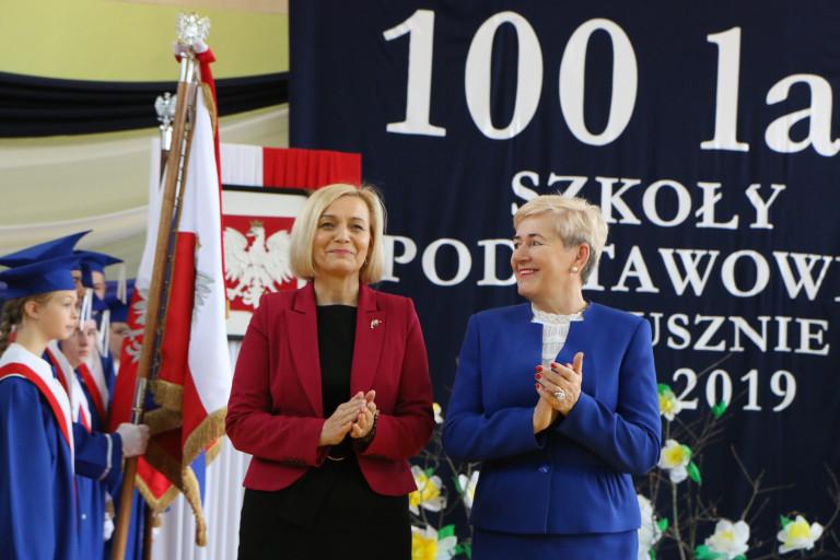 Szkoła Podstawowa w Łopusznie ma 100 lat