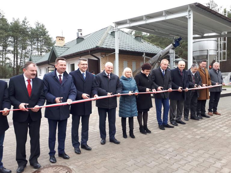Zakończono rozbudowę oczyszczalni ścieków w Sobkowie