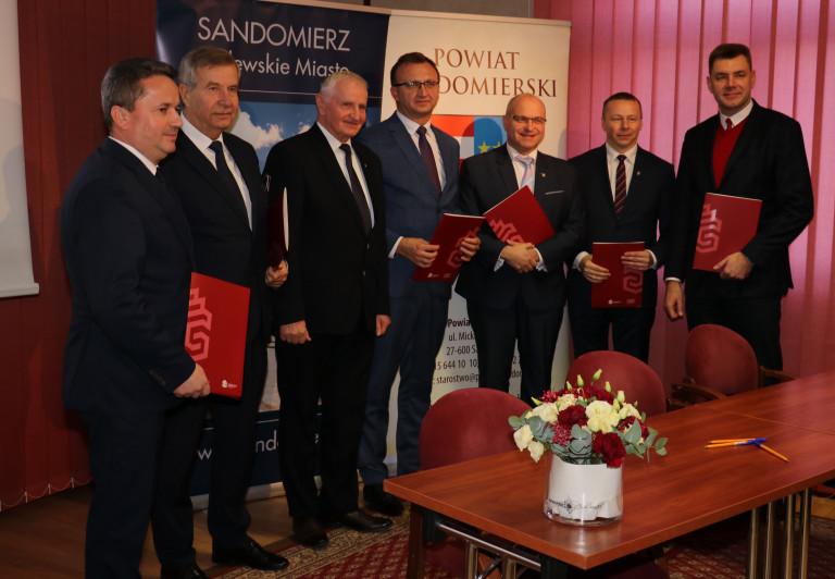 W Sandomierzu o współpracy trzech powiatów