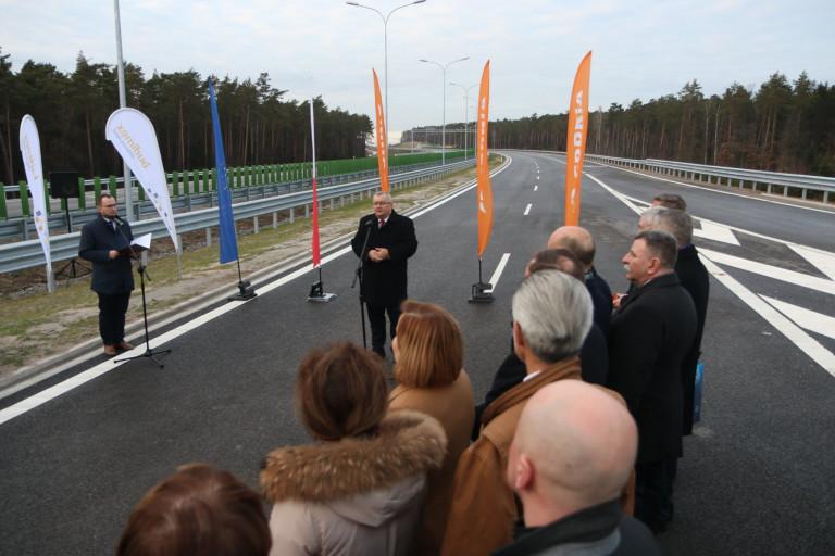 Szybciej i bezpieczniej przez Świętokrzyskie. Otwarto odcinek S7 w Skarżysku-Kamiennej