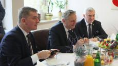 Andrzej Pruś, wojewoda Zbigniew Koniusz i marszałek Andrzej Bętkowski.