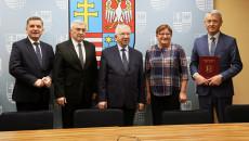 Podpisanie umowy na rewitalizację Mirca