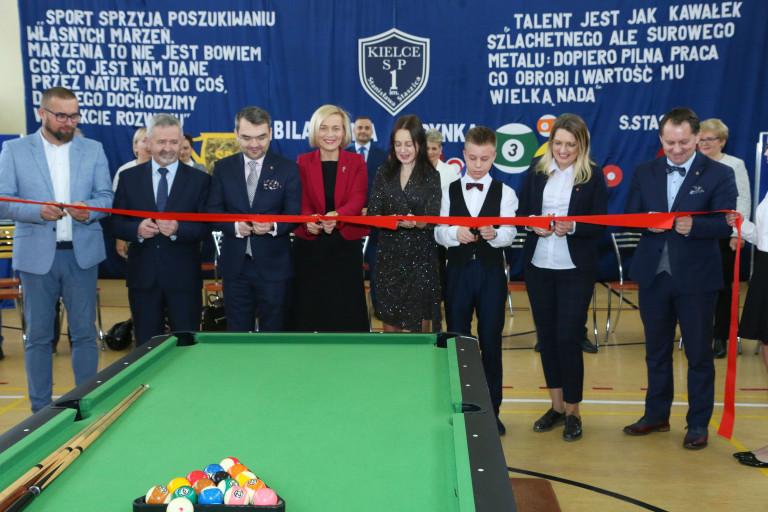 Pierwszy w regionie szkolny ośrodek sportu bilardowego otwarty!