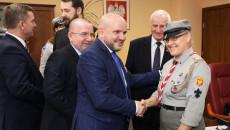 Przekazanie Betlejemskiego Światła Pokoju Zarządowi Województwa Świętokrzyskiego I Przewodniczącemu Sejmiku (9)