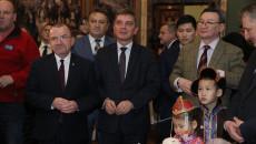 spotkanie z okazji 70-lecia współpracy dyplomatycznej Mongolii i Polski z udziałem ambasdora Mongolii i przedstawicieli samorządu województwa świętokrzyskiego