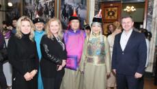 muzyka mongolska prezentowana w WDK w Kielcach podczas uroczystości 70-lecia współpracy pomiędzy RP i Mongolią