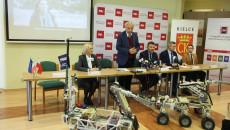 Konferencja Szóstej Edycji Międzynarodowych Zawodów Robotów Marsjańskich European Rover Challenge (1)