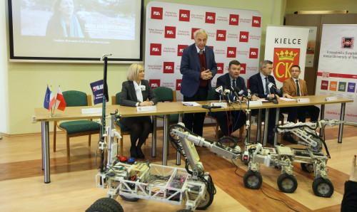 Konferencja Szóstej Edycji Międzynarodowych Zawodów Robotów Marsjańskich European Rover Challenge