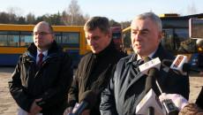 Konferencja Prasowa W Starachowicach Poświęcona Decyzji O Przyznaiu środków Na Niskoemisyjny Transport Publiczny 2