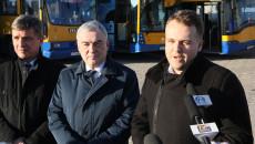Konferencja Prasowa W Starachowicach Poświęcona Decyzji O Przyznaiu środków Na Niskoemisyjny Transport Publiczny 3