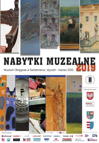 Plakat Wystawy Nabytki Muzealne 2019 W Muzeum Okręgowym W Sandomierzu