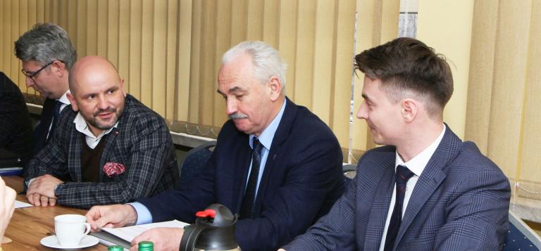 Dyskusja o stanie inwestycji komunikacyjnych południowego Ponidzia