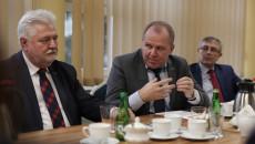spotkanie dotyczące projektu zagospodarowania odpadów komunalnych i przemysłowych, Kielce, luty 2020