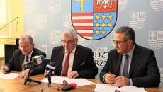 Uroczystość Podp[isania Umowy Plan Ogólny Andrzej Betkowski, Marek Bogusławski, Youssef Sleiman (7)
