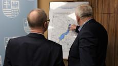 Spotkanie w sprawie budowy zbiornika Wierna Rzeka, Urząd Marszałkowski Województwa Świętokrzyskiego, luty 2020