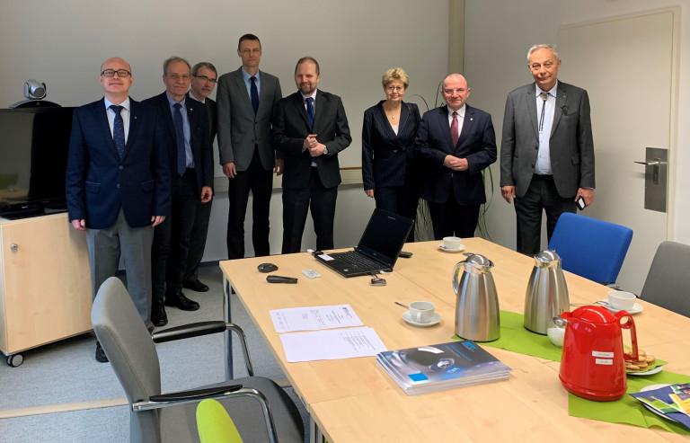 Spotkania w Niemieckim Instytucie Metrologicznym