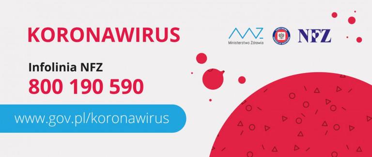 Koronawirus Mały Plakat Dotyczący Informacji O Wirusie
