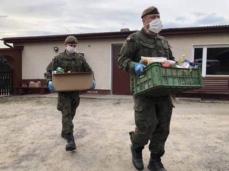 Terytorialsi pomagają mieszkańcom gminy Bliżyn