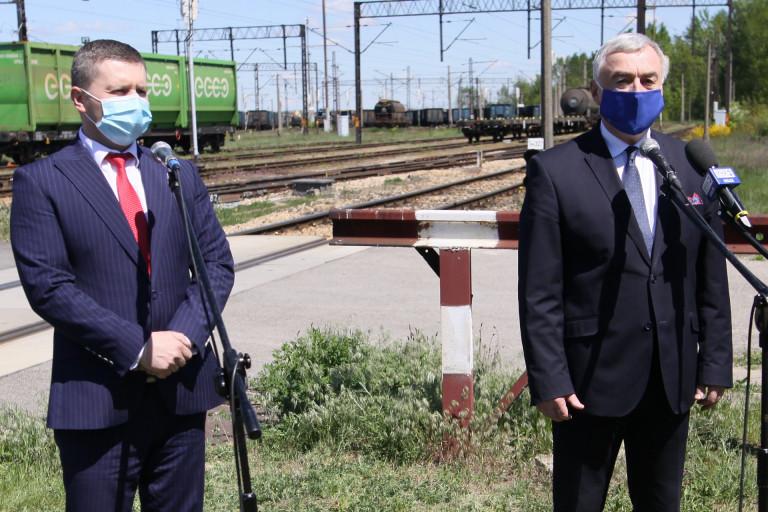 Radny Sejmiku Marcin Piętak I Marszałek Andrzej Bętkowski
