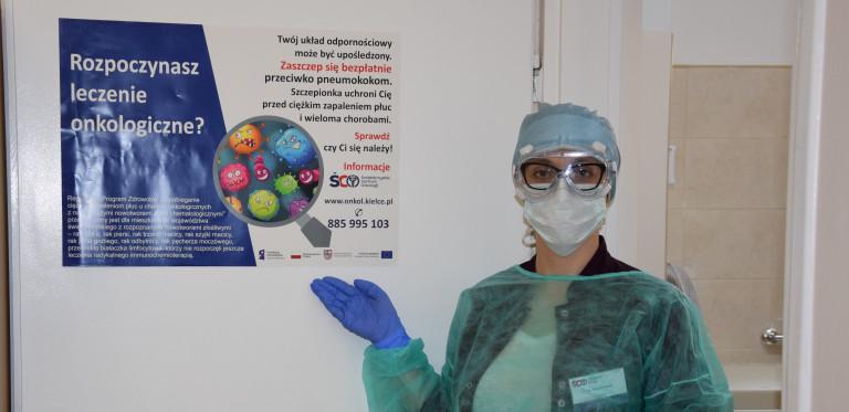 ŚCO reaktywuje program szczepień dla chorych onkologicznie