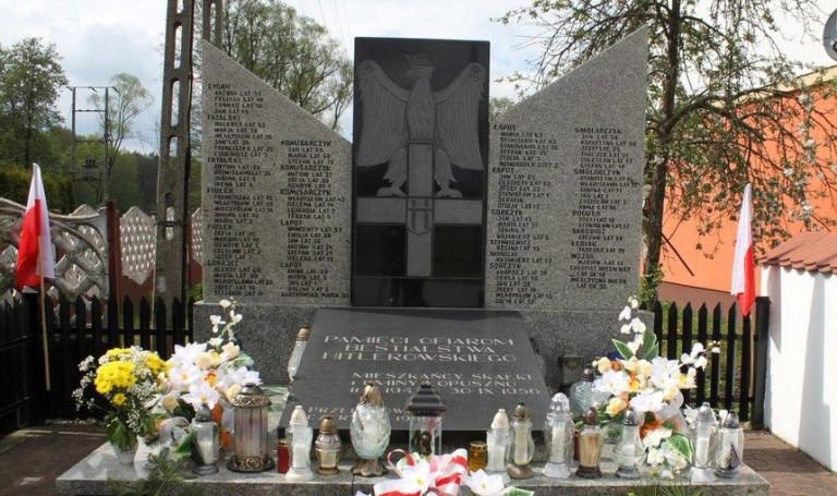 77. rocznica pacyfikacji mieszkańców Skałki Polskiej