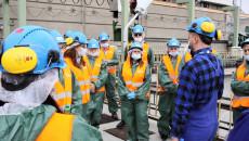 Pracownicy Urzędu Zapoznali Sie Z Nowymi Technologiami Stosowanymi W Elektrowni