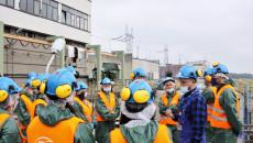 Pracownicy Urzedu Zwiedzają Elektrownię