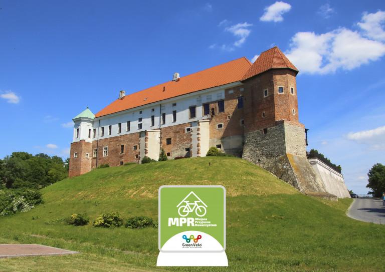 Sandomierski zamek – Miejsce Przyjazne Rowerzystom