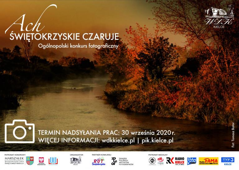 """Konkurs fotograficzny """"Ach świętokrzyskie czaruje"""" 2020"""
