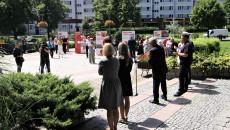 Plac na Skałkach W Starachowicach Otwarcie Wystawy