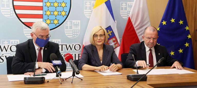 Blisko 11 mln zł z UE na nowe oświetlenie, rewitalizację i termomodernizację świętokrzyskich gmin