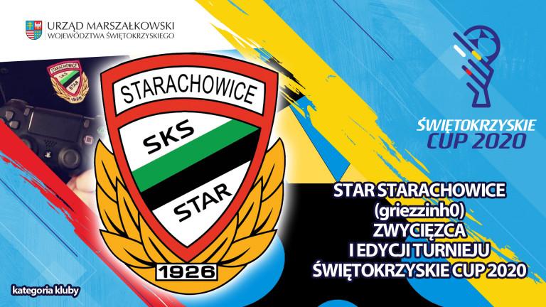 Star Starachowice najlepszym Klubem w turnieju Świętokrzyskie Cup 2020