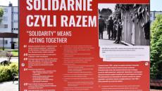 Wystawa Tu Rodziła Się Solidarność Plansza