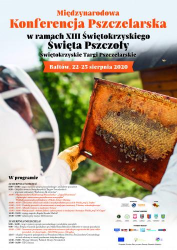 plakat Święto Pszczoły w Bałtowie