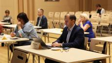 Uczestnicy posiedzenia Komitetu Sterującego Regionalnego Programu Operacyjnego Województwa Świętokrzyskiego