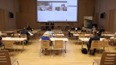 Sala kameralna Filharmonii Świętokrzyskiej, spotkanie Komitetu Sterującego Regionalnego Programu Operacyjnego Województwa Świętokrzyskiego