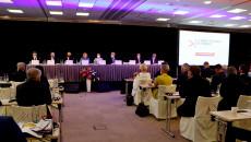 Obrady podczas Forum Regionów Krajów Grupy Wyszehradzkiej w Pradze