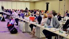 Przedstawiciele regionów Grupy Wyszehradzkiej podczas forum w Pradze
