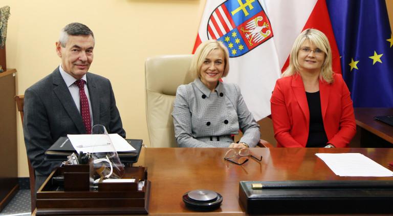 Tele Konferencja u Wicemarszałek Województwa Świętokrzyskiego