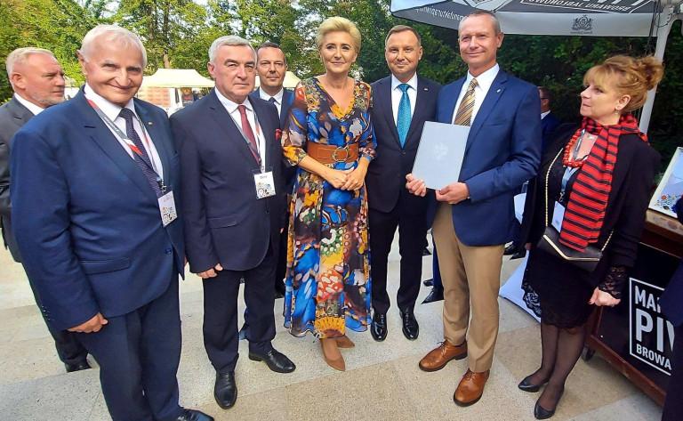 Wieniec z Łoniowa wyróżniony na Dożynkach Prezydenckich