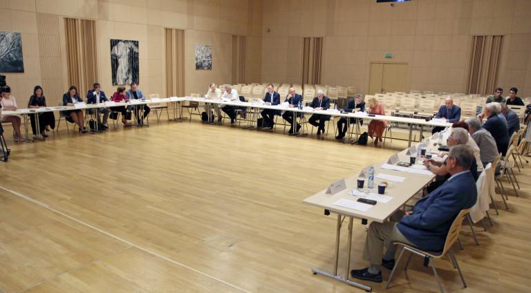 Wojewódzka Rada Dialogu Społecznego Posiedzenie Wrześniowe Widok Ogólny