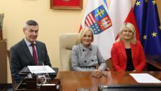 Wicemarszałek Renata Janik, Dyrektorzy Departamentu Wdrażania Europejskiego Funduszu Społecznego