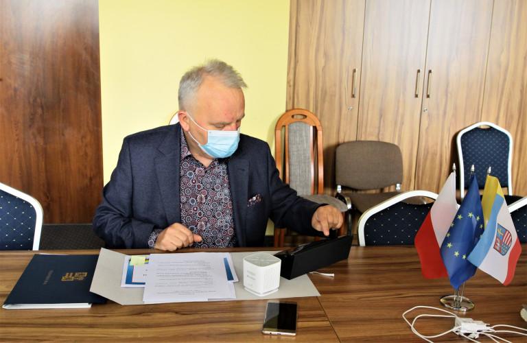 Grzegorz Banaś, przewodniczący Komisji Strategii Sejmiku Województwa Świętokrzyskiego