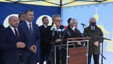 Przemawia Burmistrz Pińczowa Włodzimierz Badurak